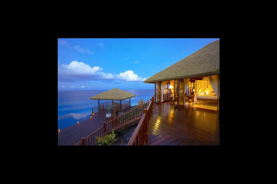 Frégate , Un ambiente zen , Las Seychelles