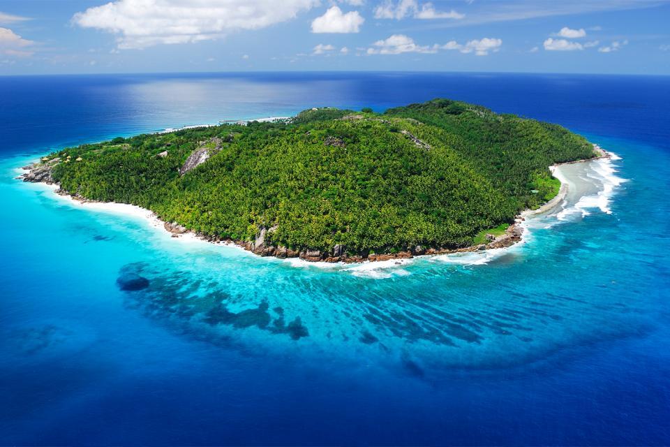 Frégate , Fregate , Las Seychelles