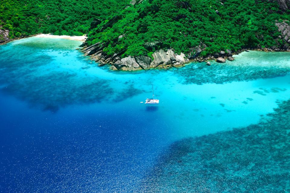 Praslin , Anse Lazio , Las Seychelles