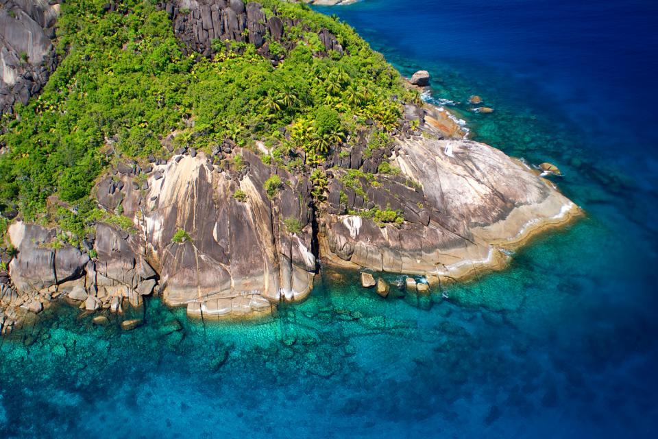 Praslin , El paraíso terrenal , Las Seychelles