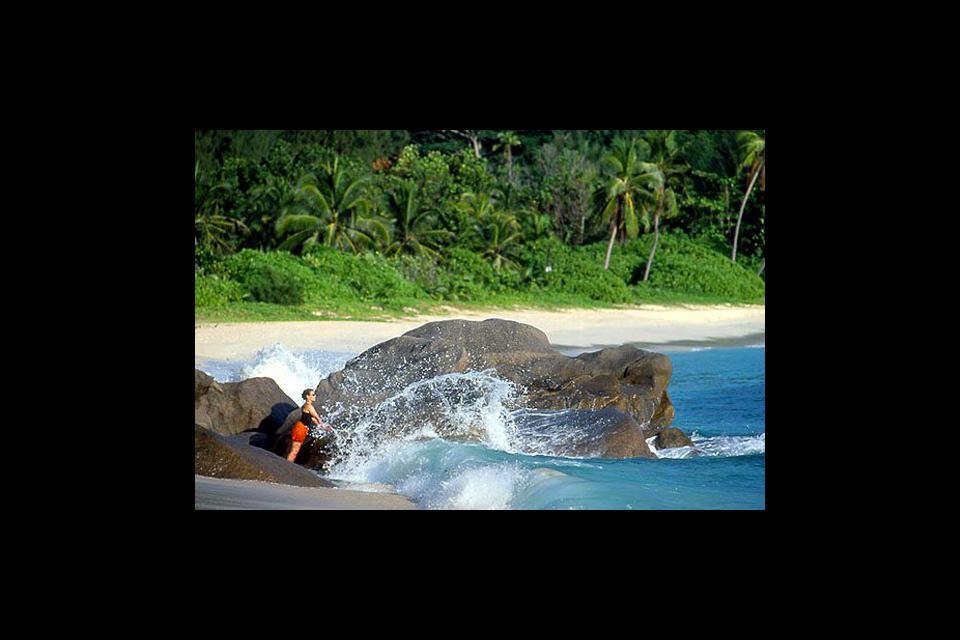 Mahé , Las ensenadas , Anse Forbans , Las Seychelles