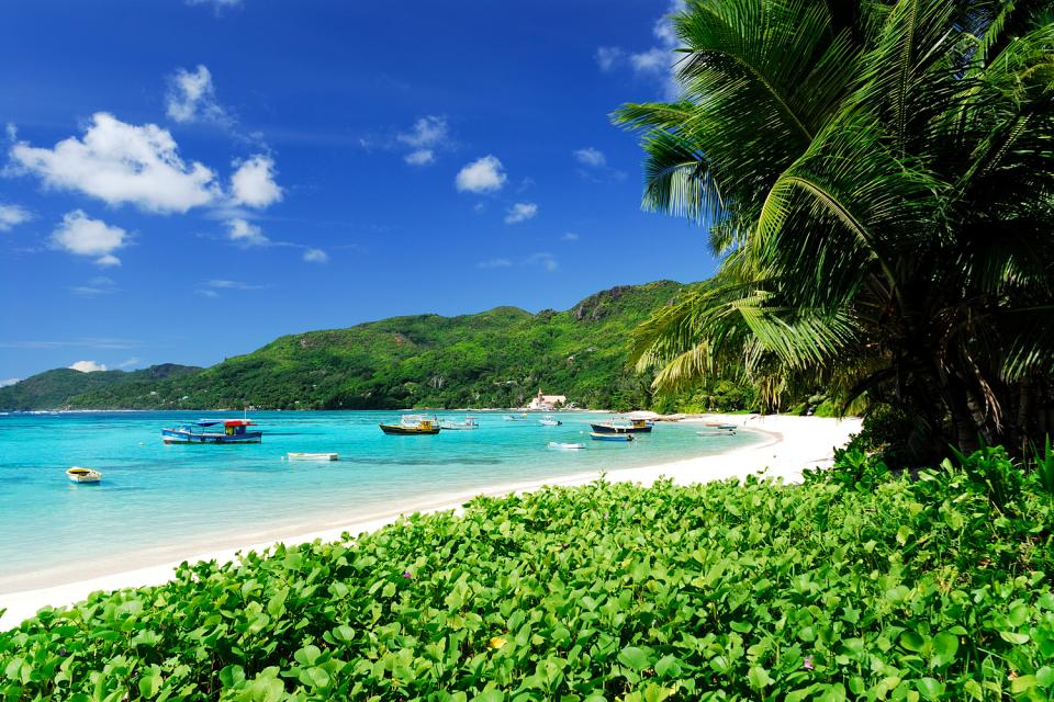 Mahé , Las ensenadas , Anse Royal , Las Seychelles
