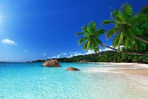 Praslin , L'anse Lazio , L'anse Lazio à Praslin , Seychelles