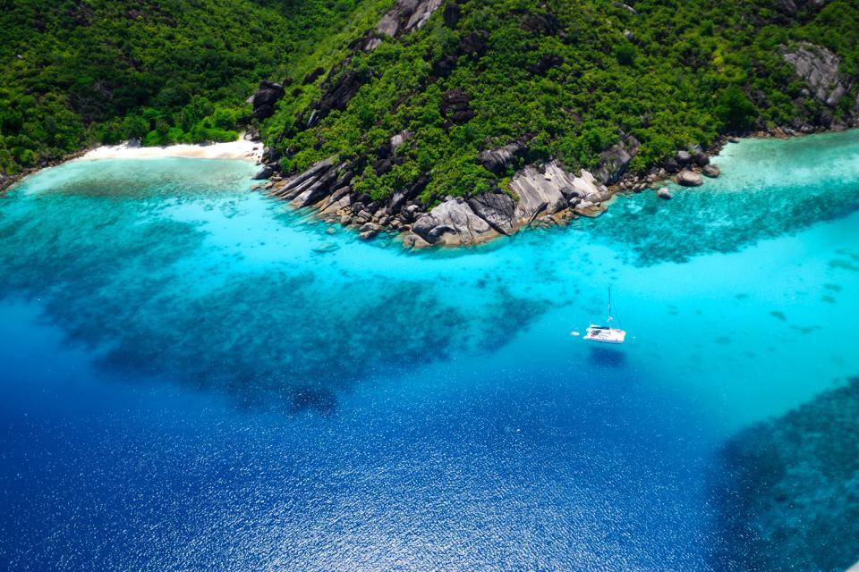 Praslin , L'insenatura Lazio , Un paradiso per la balneazione , Seychelles