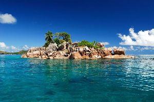La Digue , L'anse Source d'Argent , L'anse Source d'Argent à La Digue , Seychelles