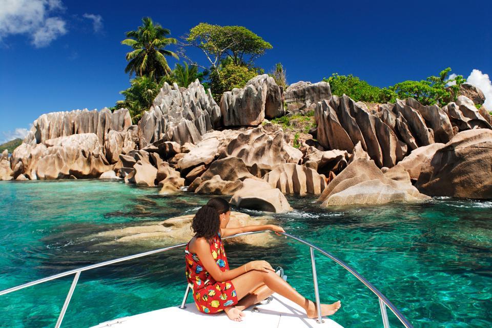 La Digue , Las playas de ensueño , Impresionantes rocas de granito rosa , Las Seychelles
