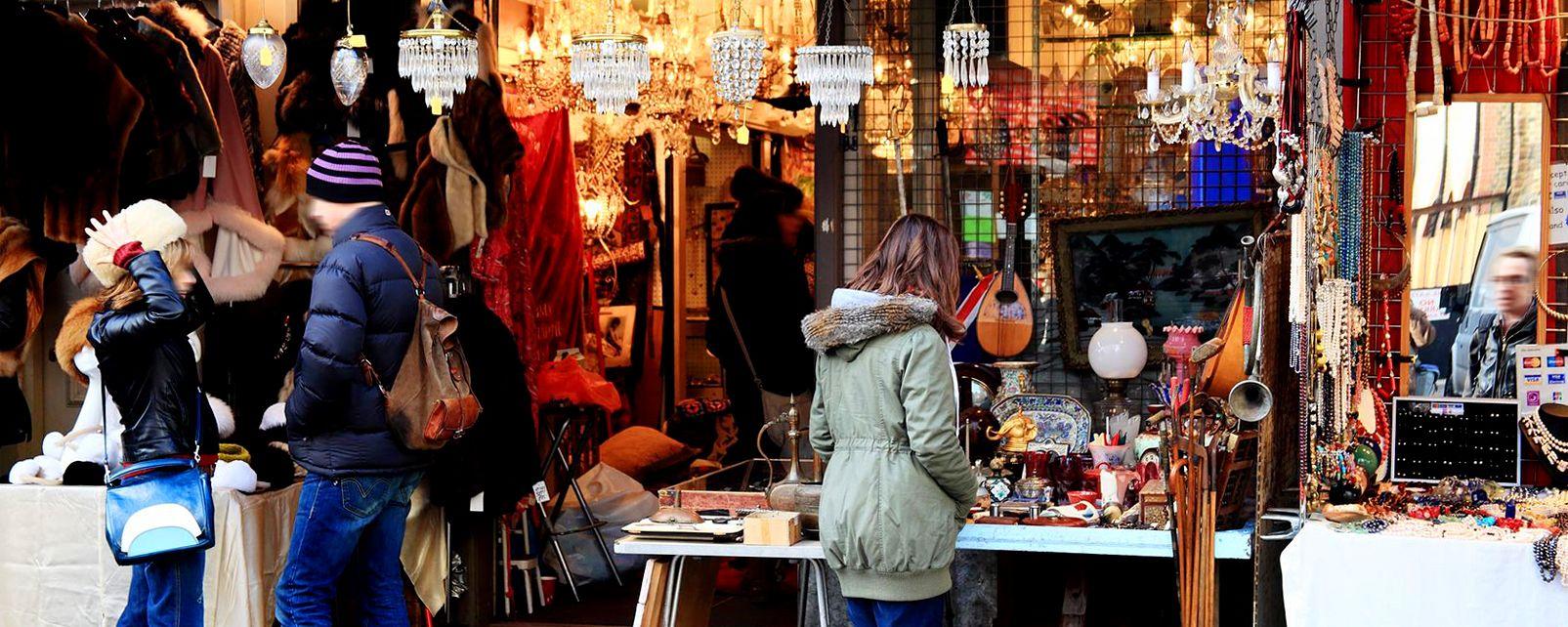 Les marchés de plein air , Les marchés de Londres , Royaume-Uni
