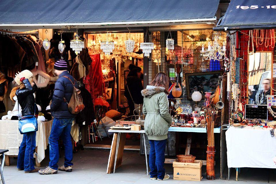 I mercatini all'aperto , I mercati di Londra , Regno Unito