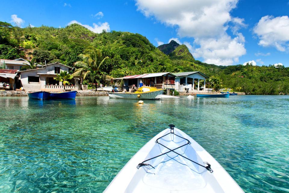 La arquitectura , Las Seychelles