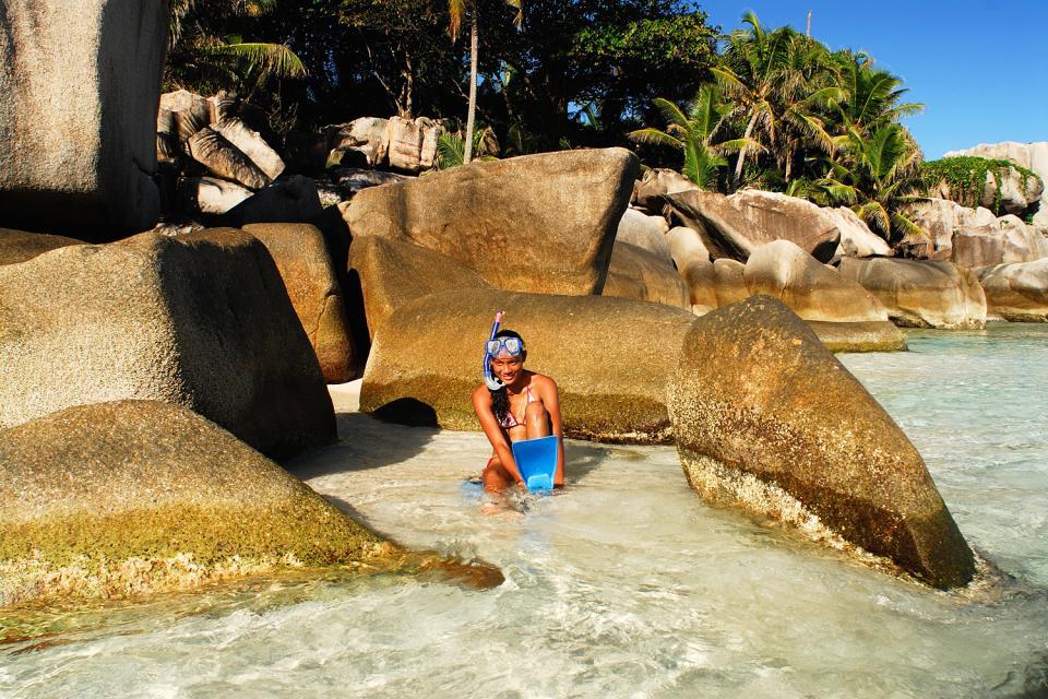 I fondali marini , Lo snorkeling , Seychelles