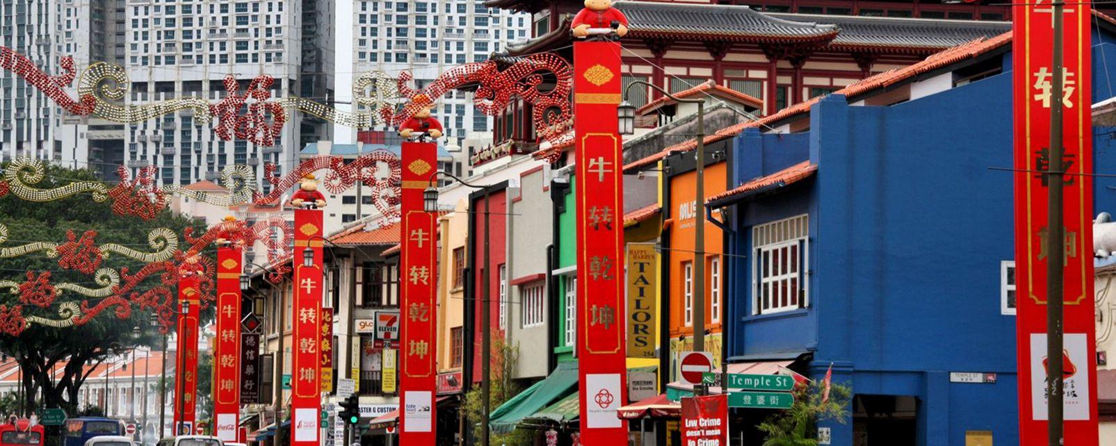 Chinatown , Singapour