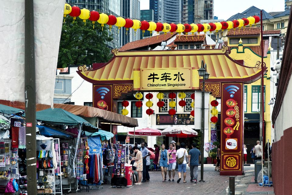 Chinatown , Bouddha d'or , Singapour