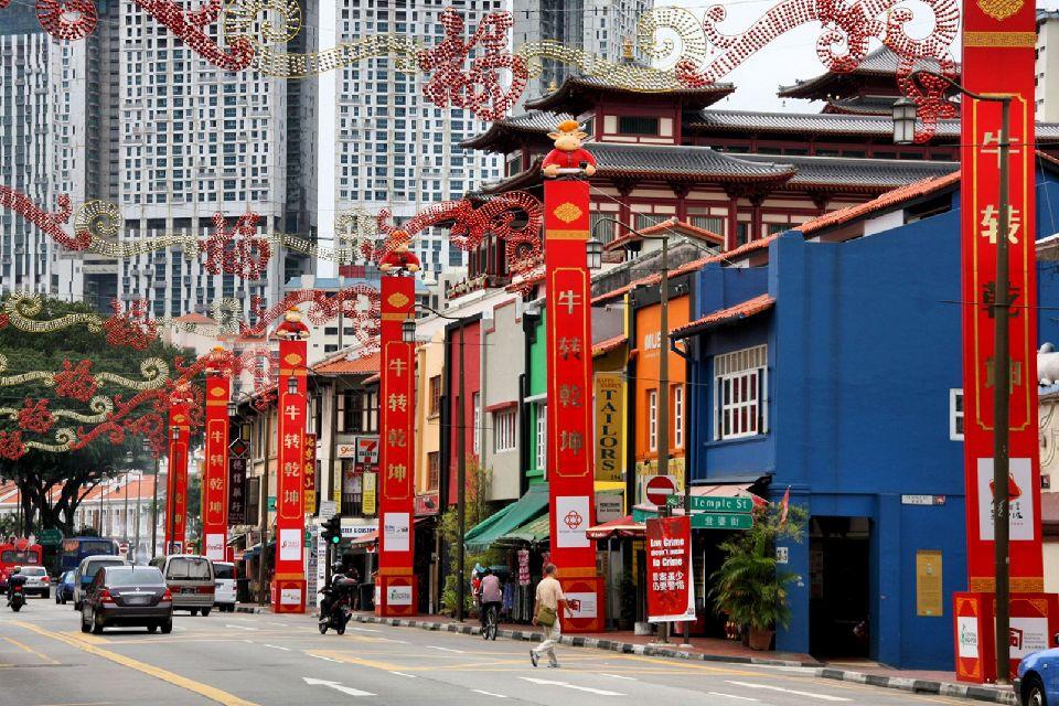 Chinatown , Singapore