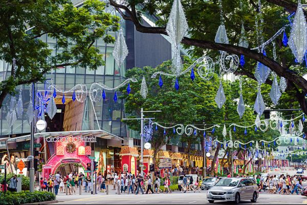 Orchard Road, The Orchard neighbourhood, Shopping, Singapore