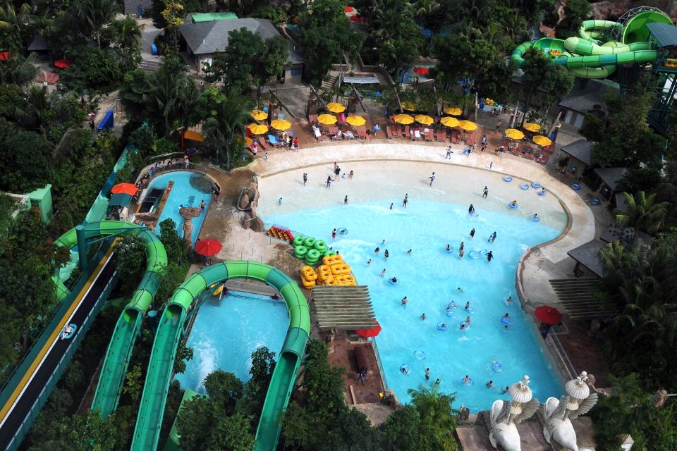 Der Sentosa-Park , Singapur