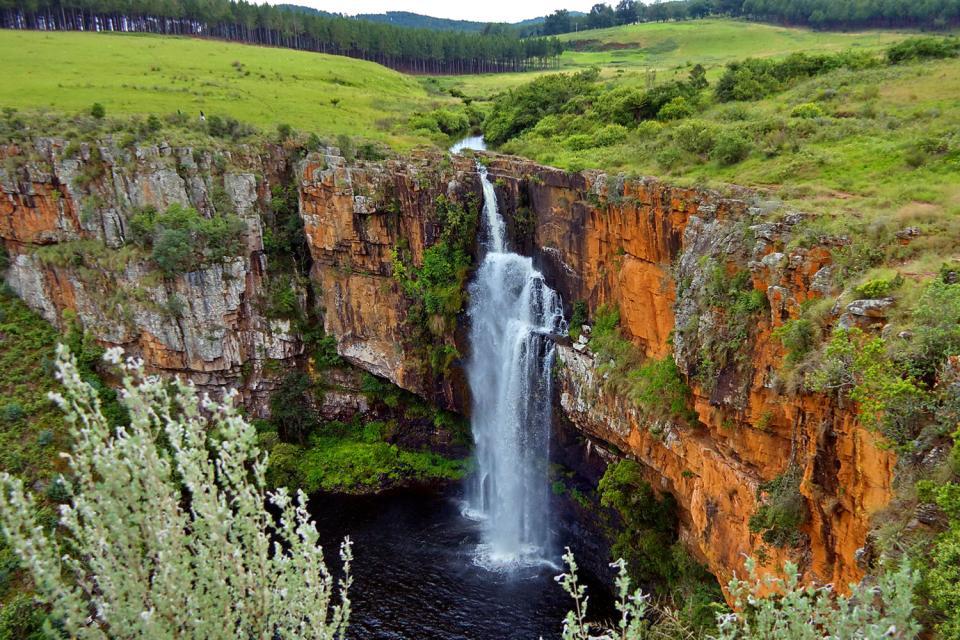 Il Free State , Le montagne di Drakensberg , Sudafrica
