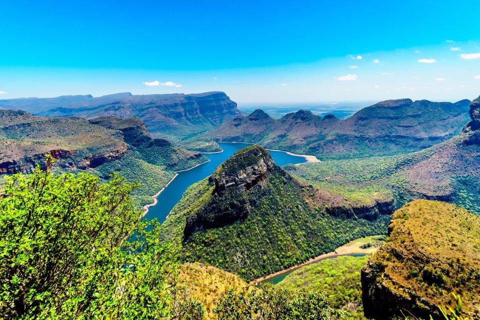 , Il Drakensberg, I paesaggi, Pretoria, Sudafrica