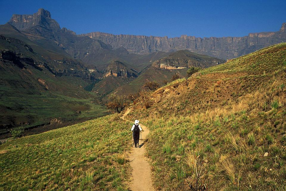 Il Free State , Attività di Drakensberg , Sudafrica