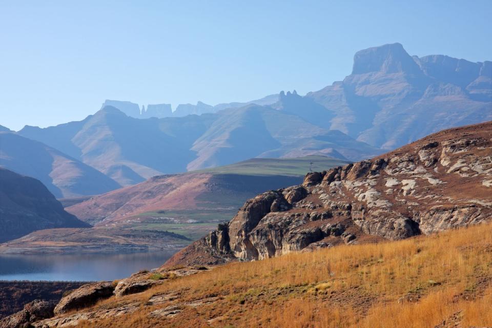 Il Free State , Significato di Drakensberg , Sudafrica