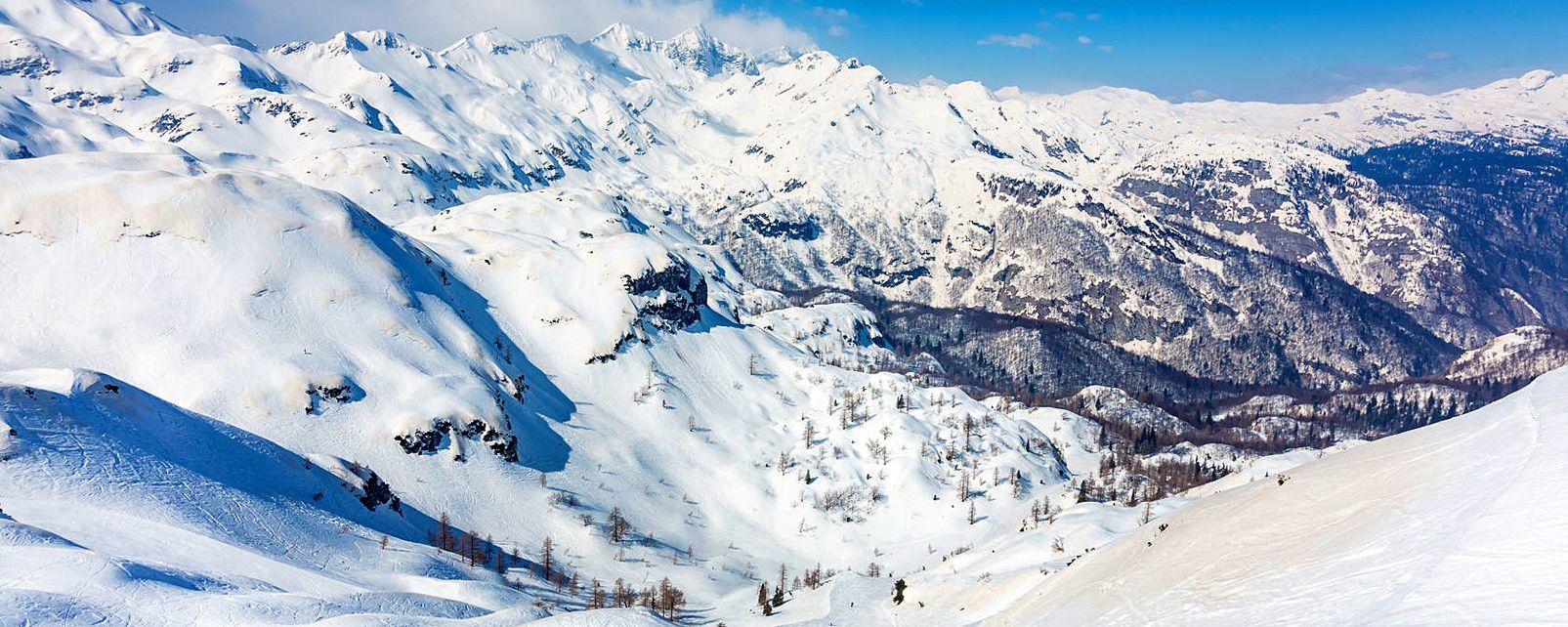 The Julian Alps , Triglav National Park, Slovenia , Slovenia