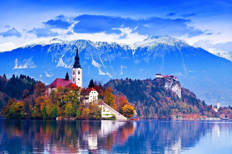 Les Alpes juliennes , Slovénie