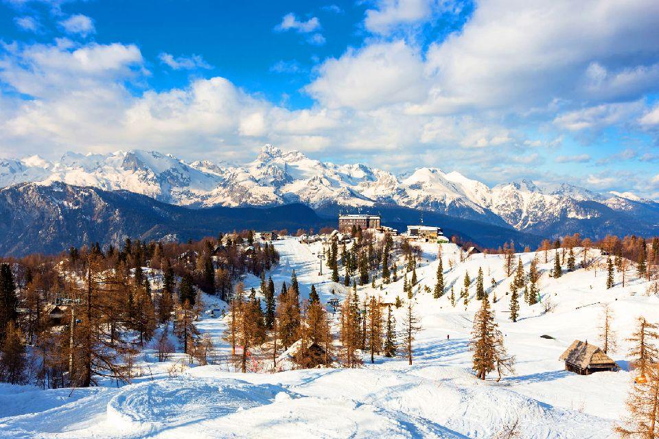 The Julian Alps , Slovenia