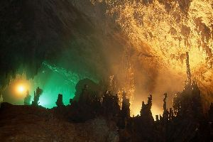 The Skocjan caves , The Skocjan Caves in Carso , Slovenia