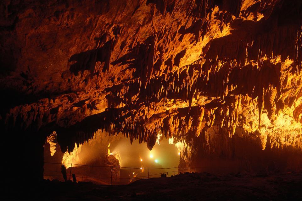The Skocjan caves , Slovenia