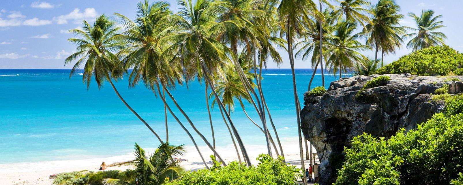 Les paysages, Bottom Bay, Barbade, Caraïbes, amérique, mer, tropiques