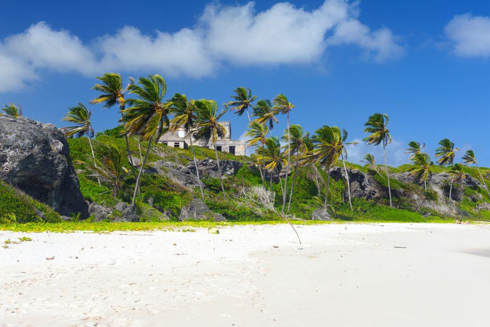 The relief, Landscapes, Barbados
