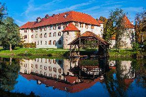 The Otocec castle , A view of the Otocec Castle, Slovenia , Slovenia