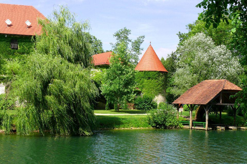 The Otocec castle , Slovenia
