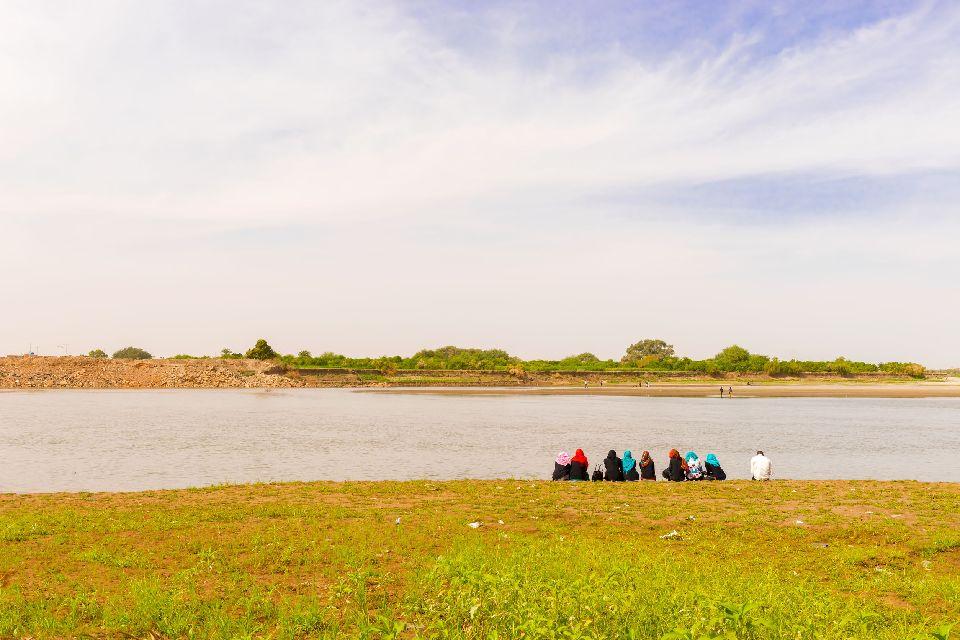 Les bords du Nil , Soudan