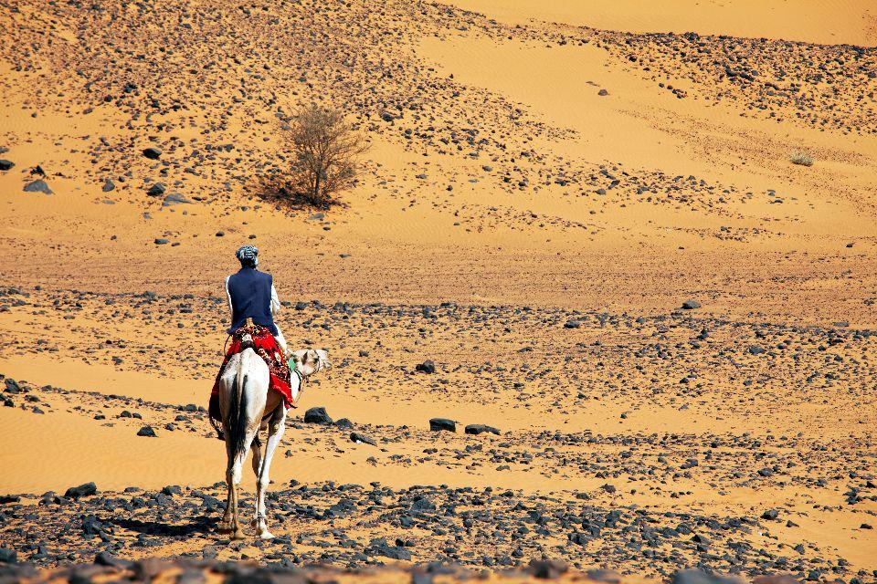 Le désert de Nubie , Soudan
