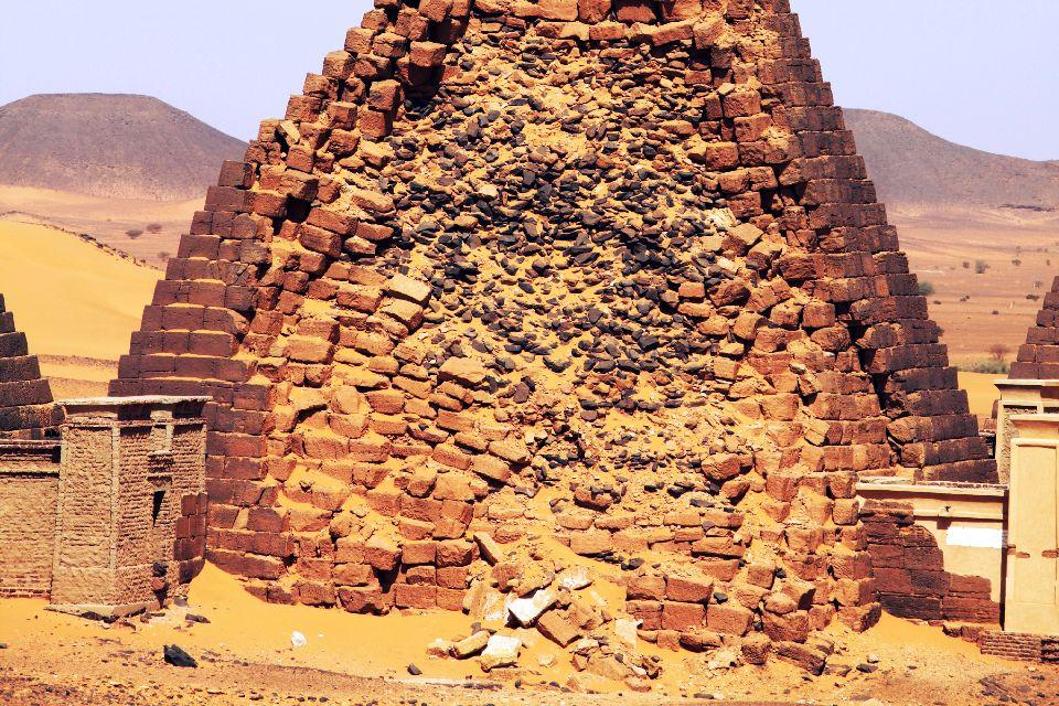 Les sites archéologiques , Les vestiges de Méroé , Soudan