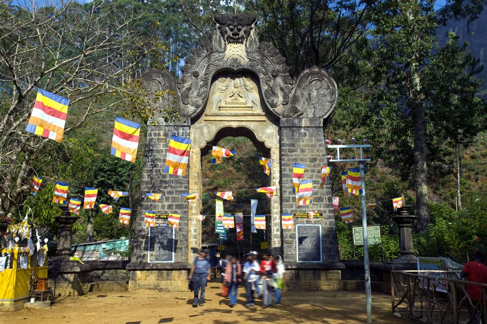 Le pic d'Adam , L'ascension du pic d'Adam , Sri Lanka