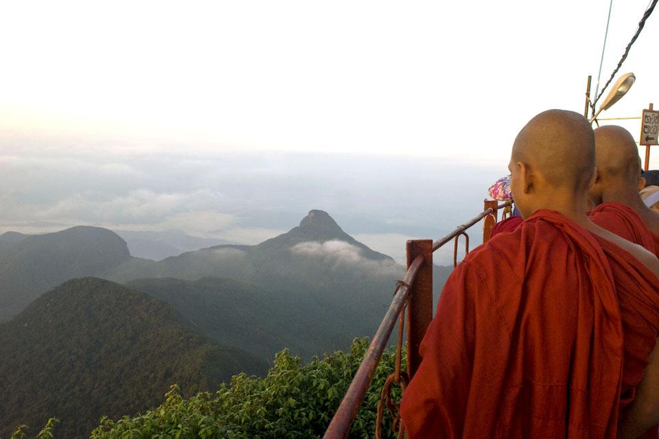 Le pic d'Adam , Sri Lanka