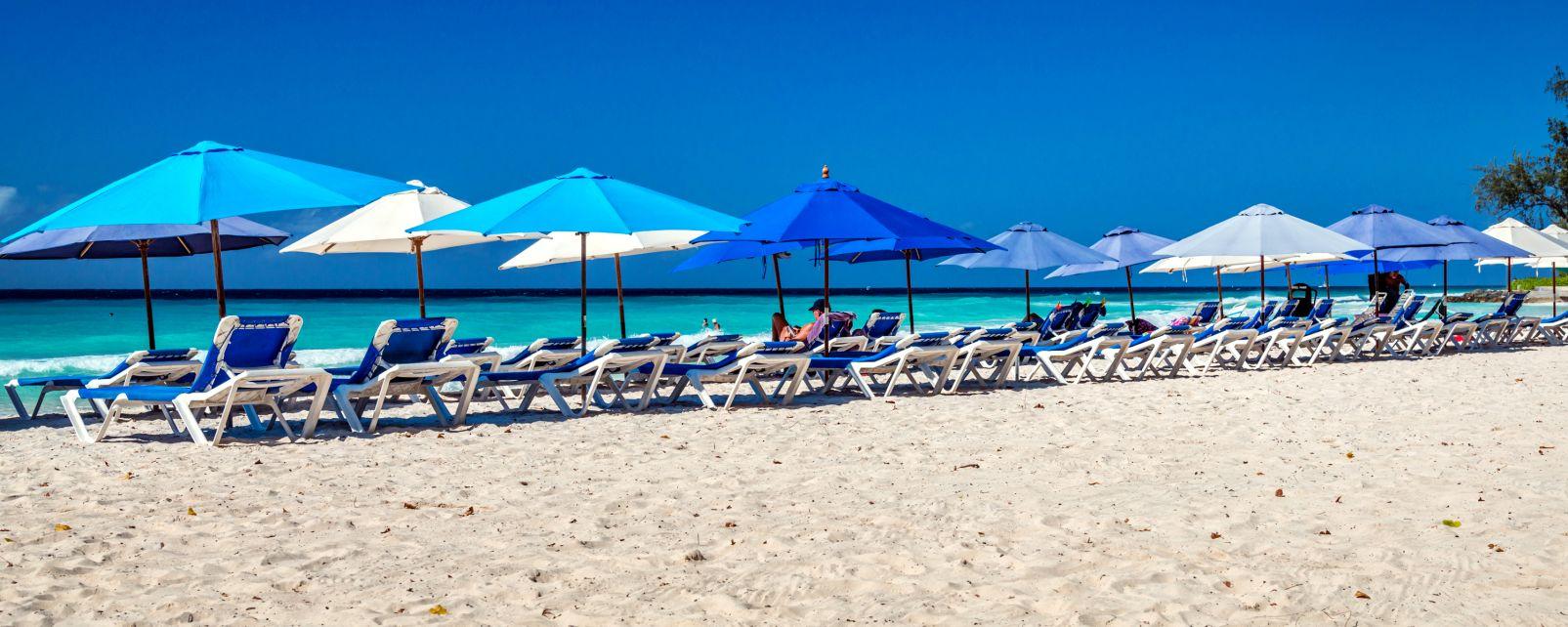 Une plage de la côte Sud, La côte Sud, Les côtes, Barbade