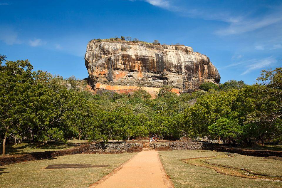 Le roc de Sigiriya , Sigiriya, Sri Lanka , Sri Lanka