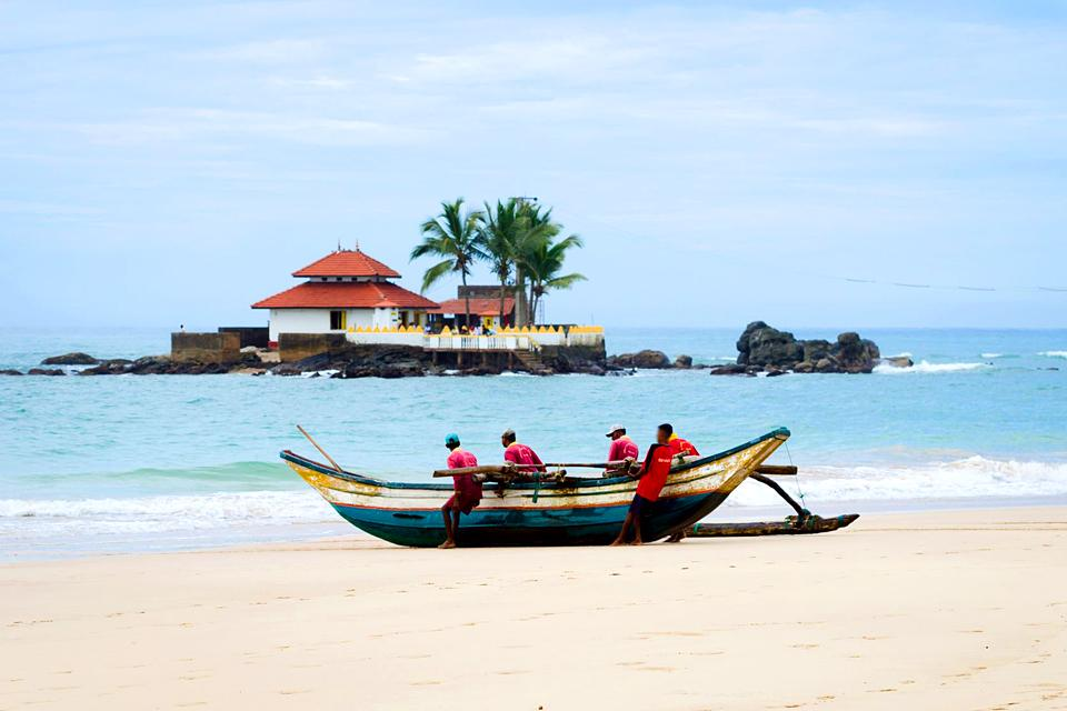 La costa occidentale , La costa occidentale dello Sri Lanka , Sri Lanka