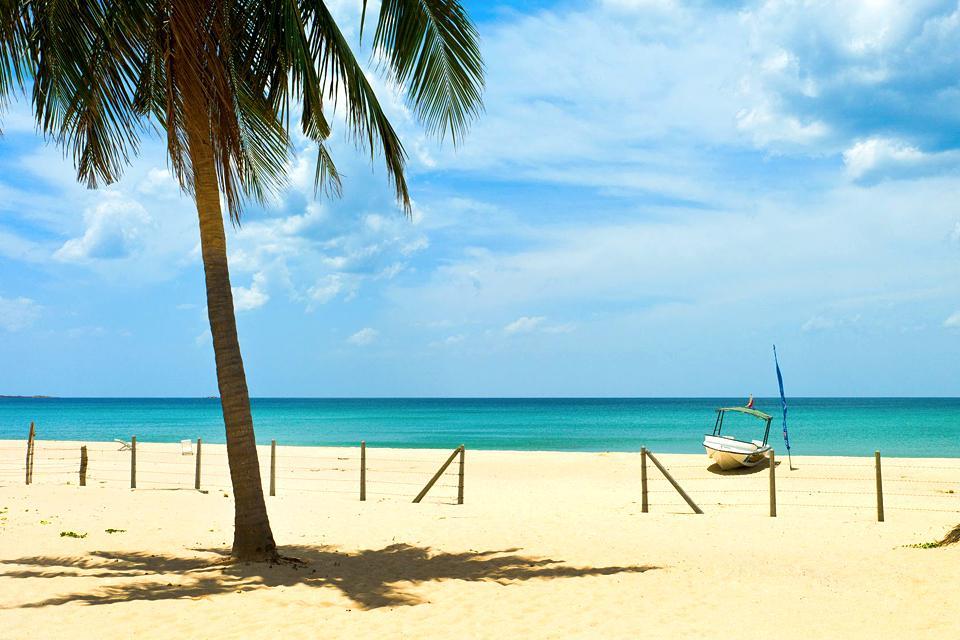 La costa orientale , Sri Lanka