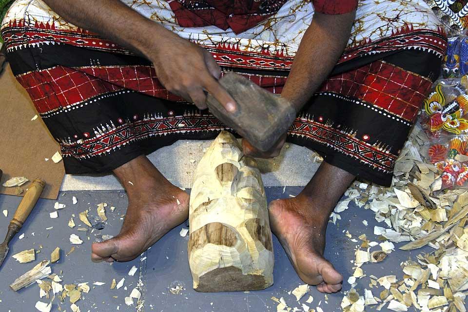 L'artisanat , Le tissage au Sri Lanka , Sri Lanka