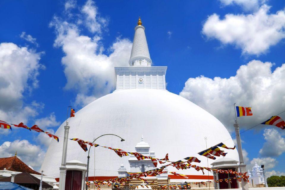 Anuradhapura , La dagoba , Sri Lanka