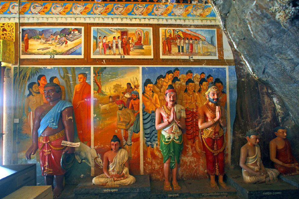 Anuradhapura , Frescos de Anuradhapura , Sri Lanka