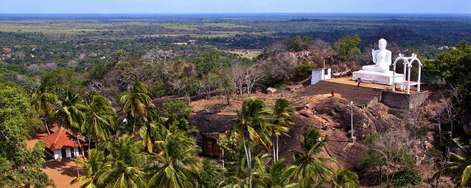 Mihintale , Mihintale, der Berg von Mahinda , Sri Lanka