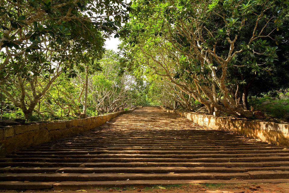 Le site Mihintale , Le site de Mihintale , Sri Lanka