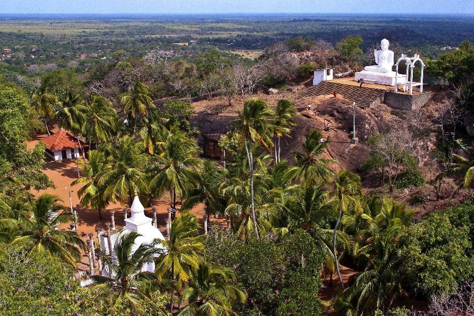 Le site Mihintale , Mihintale, la montagne de Mahinda , Sri Lanka