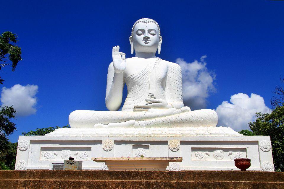 Le site Mihintale , Le Bouddha , Sri Lanka