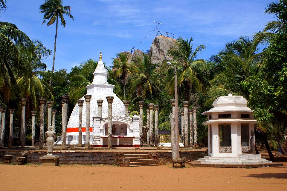 Le site Mihintale , Le stupa de Mihintale , Sri Lanka