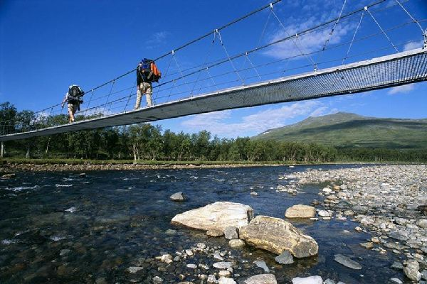 The Royal Track , Crossing the bridge, Sweden , Sweden
